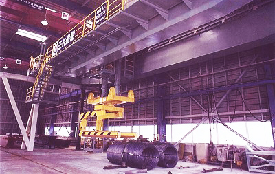 PAutomatic coil transportation crane